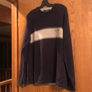 Men's Tommy Hilfiger navy and grey sweater